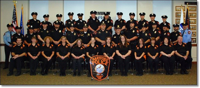 Hartford Police Dept Group Portrait
