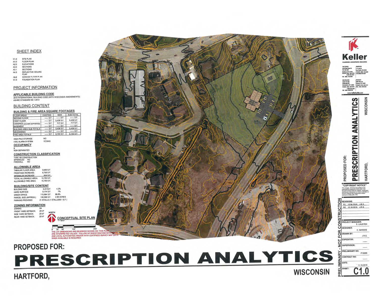 Prescription Analytics - Site Plan