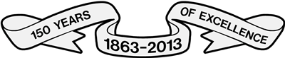 150 Years Ribbon